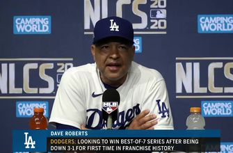 Dodgers manager Dave Roberts doesn't commit to NLCS Game 7 starter following Game 6 win