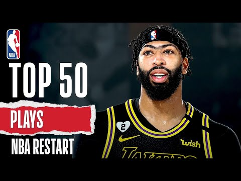 Top 50 Plays From NBA Restart!