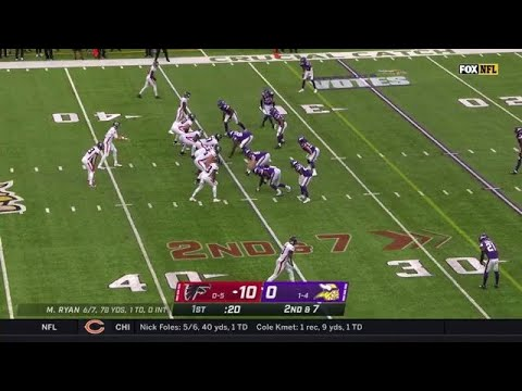 Vikings Punch Out the Fumble from Brian Hill