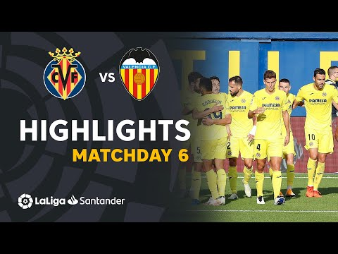 Highlights Villarreal CF vs Valencia CF (2-1)