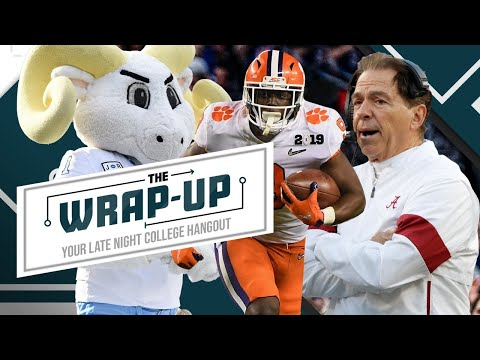 The Wrap-Up Show | Your late night college hangout