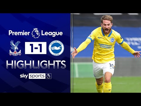 Late goal and red card as M23 derby ends in a draw! | Crystal Palace 1-1 Brighton | EPL Highlights