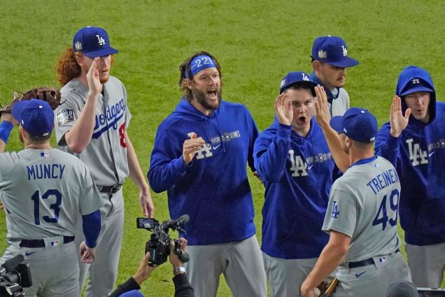 In tight World Series spot, Clayton Kershaw finally delivers for the Dodgers