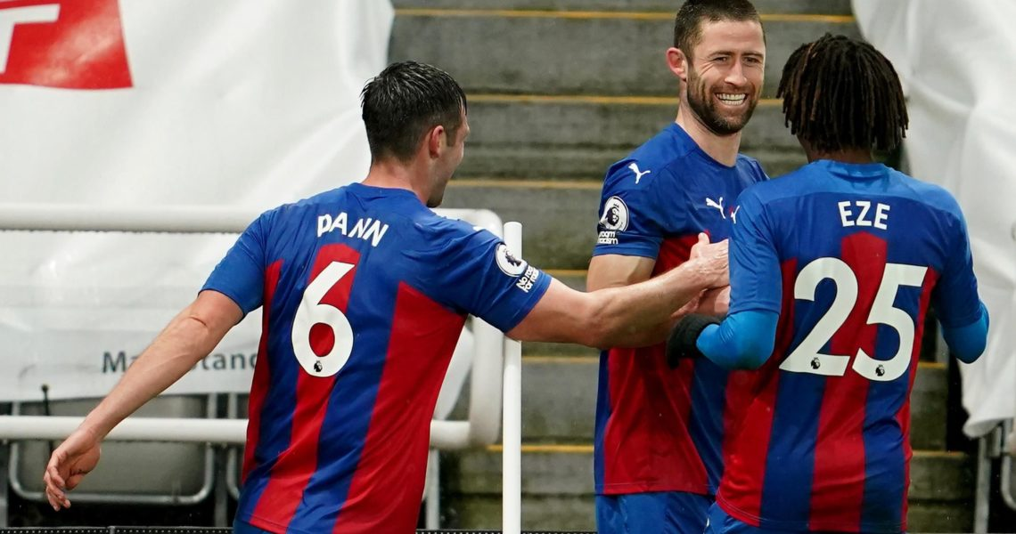 Cahill scores winner as Palace hit back to beat Newcastle