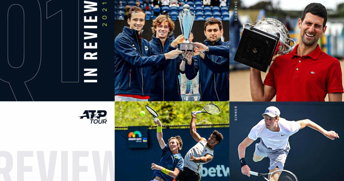 Q1 Review: Russian Takeover, Djokovic Takes Record & Federer Returns